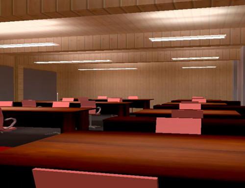 Mise en lumière d'un espace bureau – Cabinet d'Architectes