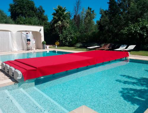 Ponton estrade pour un défilé de mode  – Ramatuelle Villa Arlequin