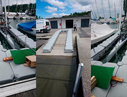 Accès et protection bateau – Quai de Cologny