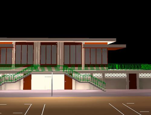 Étude de mise en lumière d'un centre de Tennis