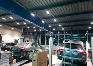 NLX projecteurs linéaires Garage Binggeli