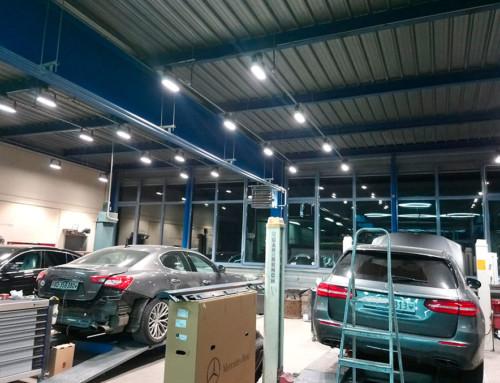 Passage en LED pour la Carrosserie Binggeli