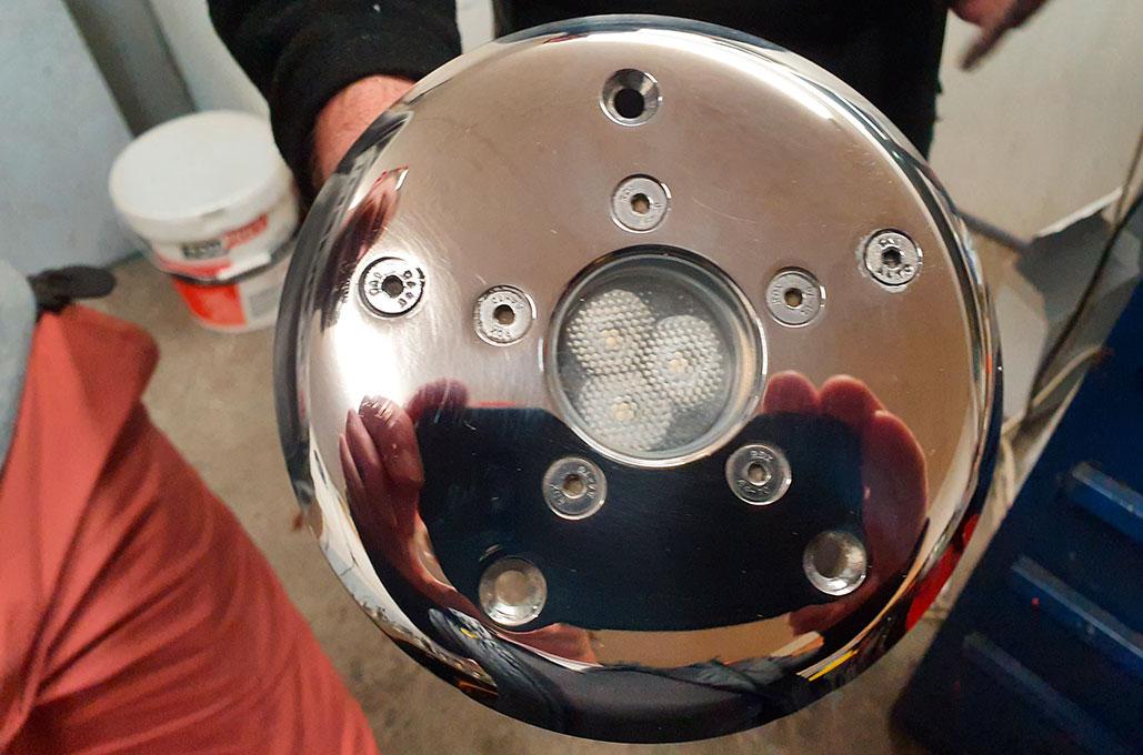 Spots submersibles - éclairage tunnel
