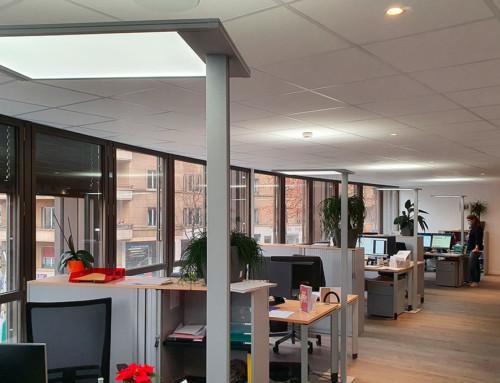 Éclairage bureau – Gonthier & Schneeberger
